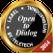 Open to dialog