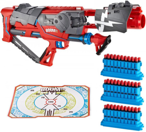 Fusil BOOMco Rapid Madness Blaster + 2 chargeurs
