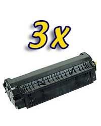 Lot de 3 Toners compatibles pour  HP Laserjet /  Canon LBP