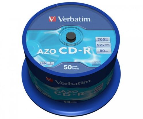 50 CD-R Verbatim AZO