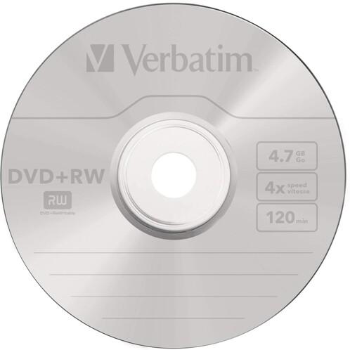 DVD+RW Verbatim Spindle 4,7 Go (x10)