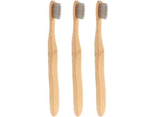bross a dents naturelles anti bacterienne hygienique en bois de bambou avec poils moyens medium