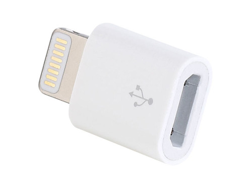 Adaptateur compatible Micro USB vers Lightning