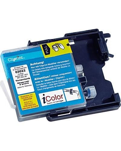 """Le """"Modifier"""" pour réservoir Cliprint compatible avec les cartouches Brother LC-985BK."""