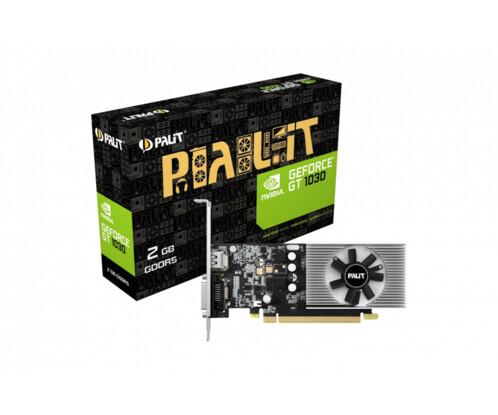 Carte graphique Palit GeForce GT 1030 2 Go.