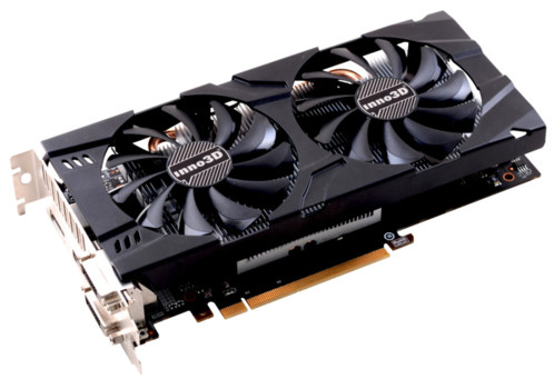 carte graphique inno3d nvidia GTX 1060 twin x2 3go 2 ventilateurs