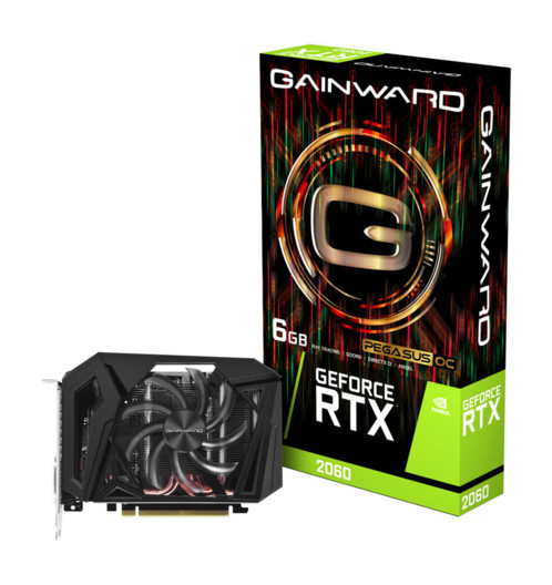 carte graphique gainward nvidia RTX 2060 Pegasus OC 6Go ITX gddr6