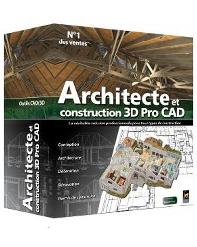 Prix architecte et construction 3d edition pro cad for 3d architecte pro