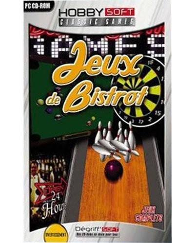 jeu vidéo pc windows jeux de bistrot hobby soft bowling billard flechettes
