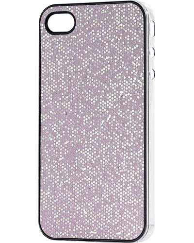 Coque de protection glamour pour iPhone rose nacré