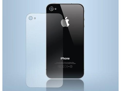Film protecteur transparent pour dos iPhone 4 / 4S