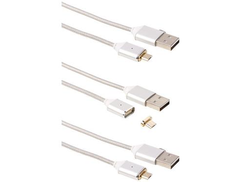 3 câbles Micro USB magnétiques - 1m