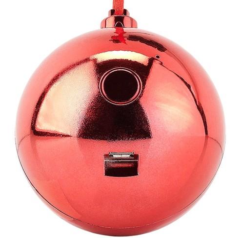 Boule de sapin de Noël avec haut parleur sans fil intégré | Pearl.fr