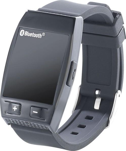 Bracelet haut-parleur avec bluetooth & fonction mains libres - noir