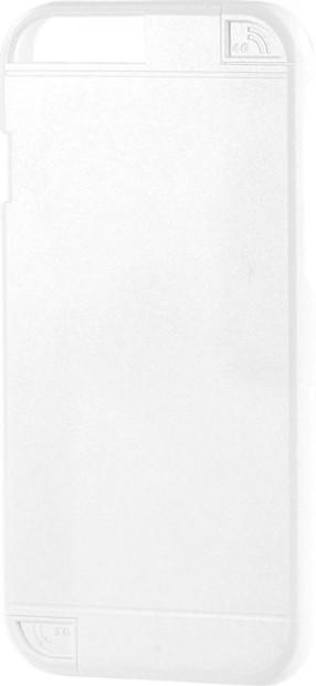 Coque de protection pour iPhone 6 avec amplificateur de signal - Blanc