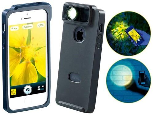 Coque de protection pour iPhone 4/4S avec loupe macro