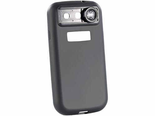 Coque de protection pour Samsung Galaxy S3 avec loupe macro