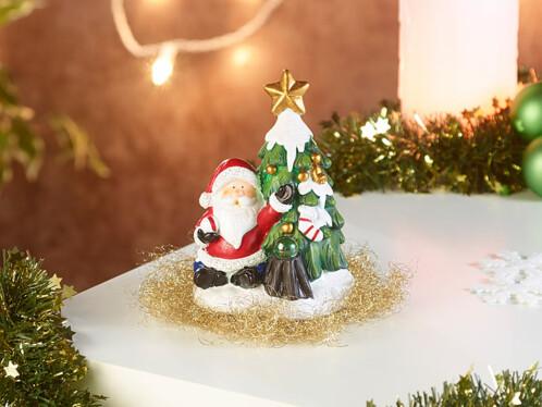 Décoration de Noël avec haut-parleur Bluetooth - Père Noël
