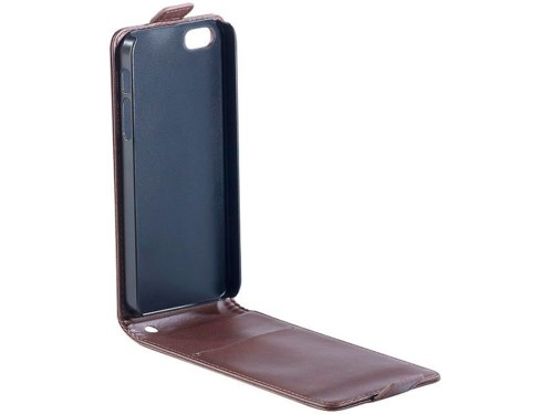 Étui à clapet pour iPhone 5 / 5S - Brun