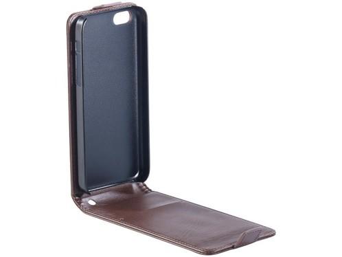 Étui à clapet pour iPhone 5C - Brun