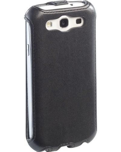 Étui de protection à Clapet pour Samsung Galaxy S3 - noir
