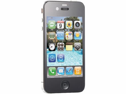 Façade de protection en verre acrylique pour iPhone 4/4S