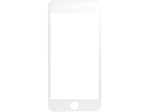 Façade de protection en verre trempé pour iPhone 6+ / 6s+ - blanc