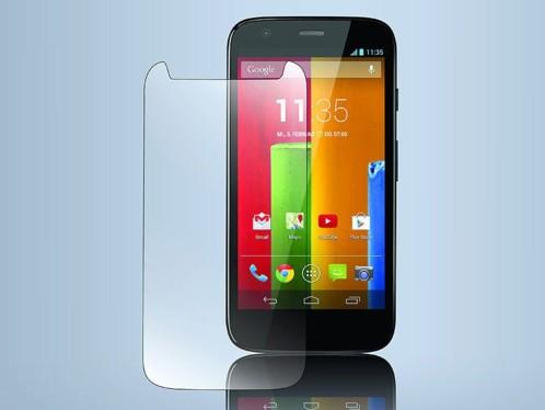Façade de protection en verre trempé pour Motorola Moto G