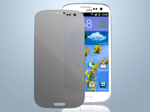 Film de protection ''Privacy'' pour Samsung Galaxy S3