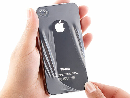 Housse de protection ''Seconde Peau'' pour iPhone 4 / 4S