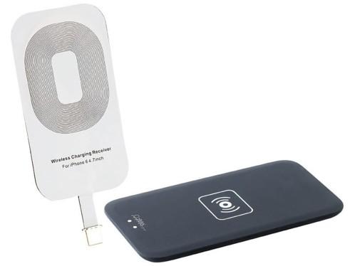 kit chargement induction par contact qi pour iphone 6 6s 6 plus 6s plus avec patch. Black Bedroom Furniture Sets. Home Design Ideas