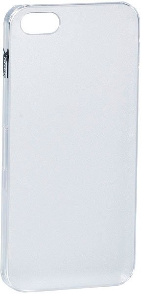 Coque de protection pour iPhone 5 / 5S / SE - transparent opaque