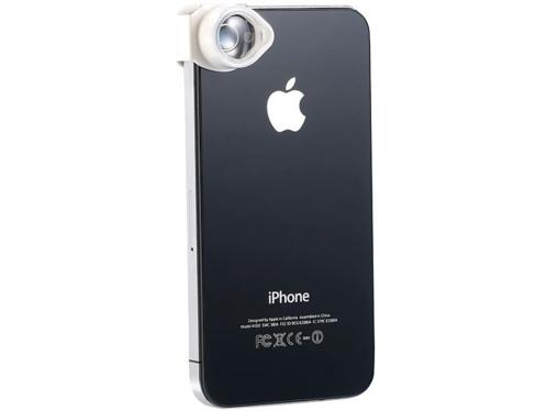 Somikon Lentille grossissante 4X pour iPhone 4/4S