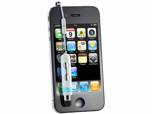 Stylet et pointeur laser pour smartphones