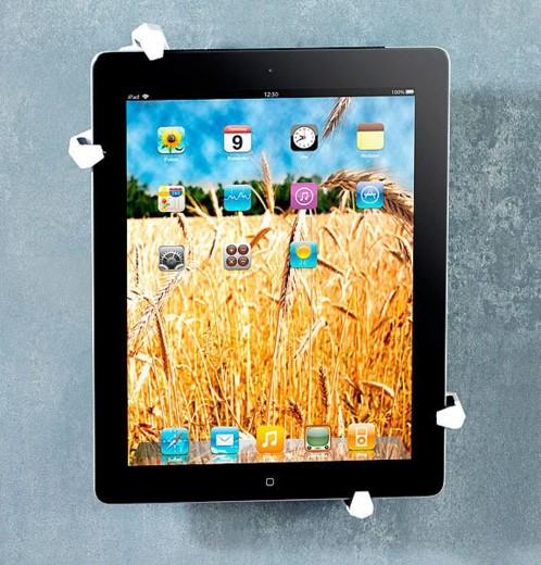 support mural pour ipad ipad mini et tablettes jusqu 39 10 4 39 39. Black Bedroom Furniture Sets. Home Design Ideas