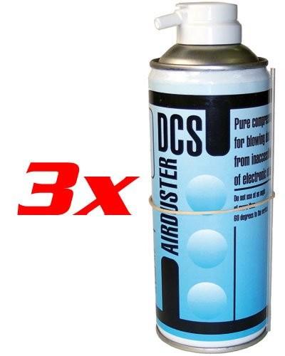 Lots de 3 bombes à gaz sec - 400 Ml