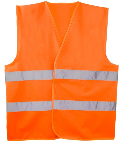 Gilet de sécurité orange