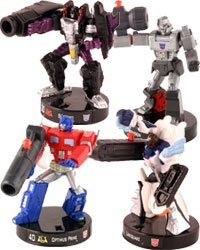Set de figurines ''Transformers Attacktix''