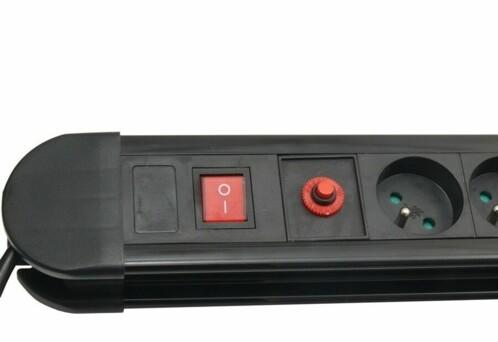 Bloc multiprise 10 prises avec interrupteur
