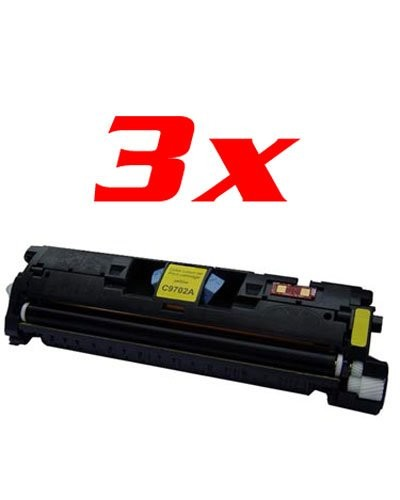 Toners remanufacturés jaune HP C9702A / C3962A Canon EP701Y