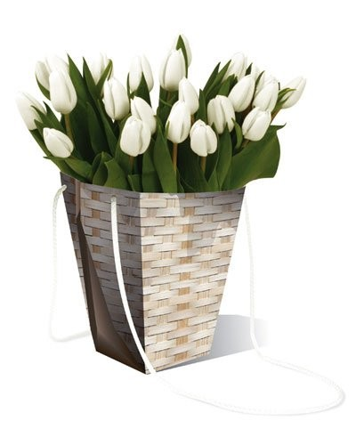 achat vente vase en carton imperm able motif bambou. Black Bedroom Furniture Sets. Home Design Ideas