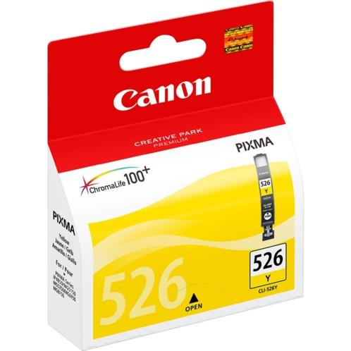 Cartouche originale Canon ''Cli526Y'' jaune