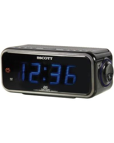 Acheter Radio Réveil Double Alarme ''Csx 98'' pas cher