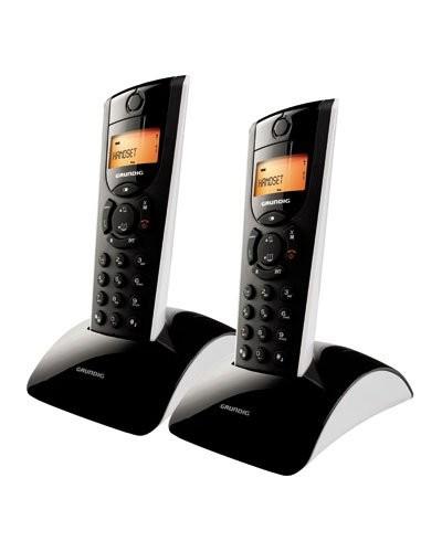 achat t l phone fixe sans fil dect 39 39 selio eco duo 39 39 pas cher. Black Bedroom Furniture Sets. Home Design Ideas