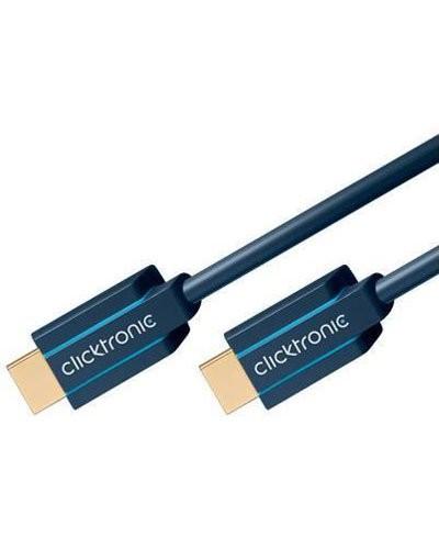 Câble HDMI High Speed Ethernet blindé Clicktronic - 3m