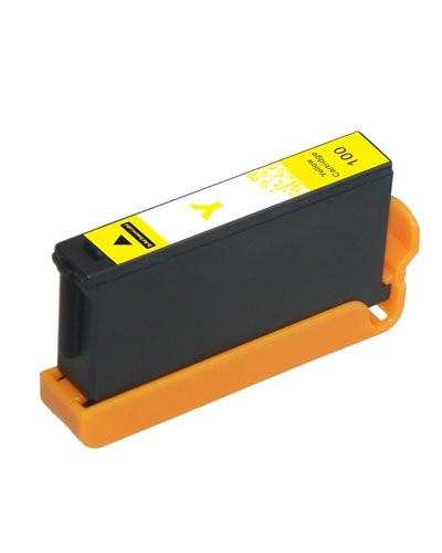 Cartouche compatible Lexmark L100Y jaune XL