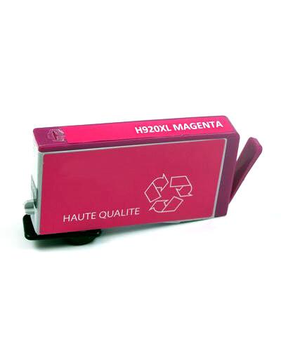 Cartouche remanufacturée HP N°920 XL CD973AE - Magenta