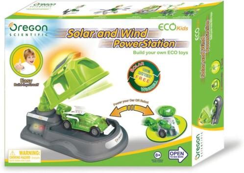 Oregon station solaire et éolienne