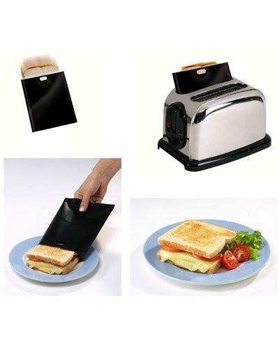 sachets pour cuisson croque monsieur au grille pain. Black Bedroom Furniture Sets. Home Design Ideas