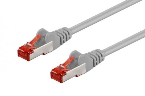 Câble réseau RJ45 Cat. 6 S/FTP Gris - 50 m